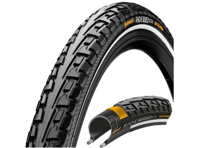 "Continental Ride Tour Tyre 24 x 1,75"" Wire Reflex, black/black"